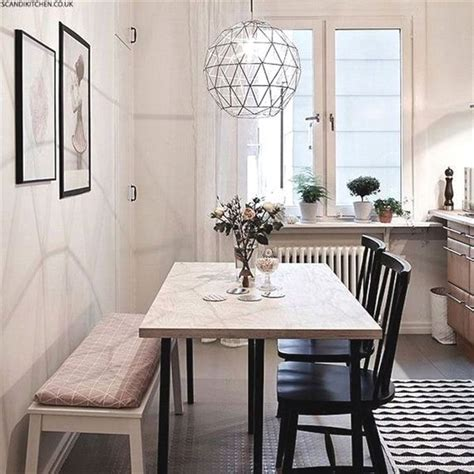 narrow dining tables  small spaces gallery
