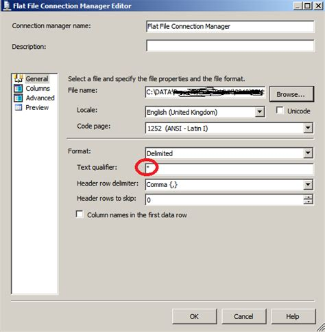 csv format text qualifier blog post importing csv file with double quotes using