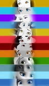 ariel eye color disney princesses snow white cinderella ariel