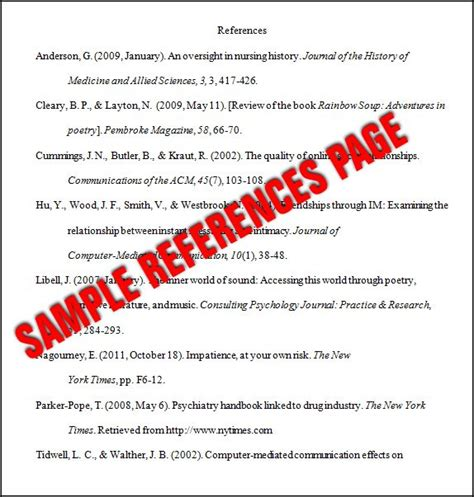Essay Reference Page Format by Best 25 Apa Style Ideas On Apa Style Paper