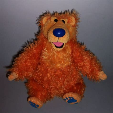 the moon the bear and the big blue house image bear in the big blue house fisher price sniffin around talking bear jpg