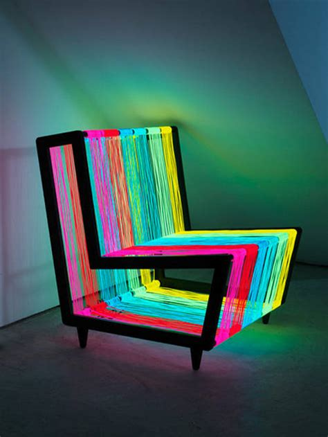 colorful recliners disco chair the colorful furniture xcitefun net