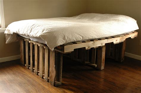 pallet bed with storage furniture gang 6hr pallet bed