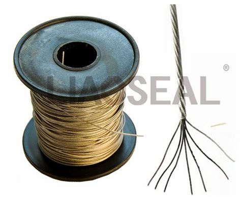 stainless steel wire lead seals sealing wire products sealing wire yongjia liaoseal co