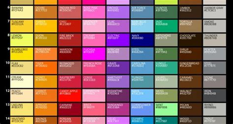 list of color graf1x com posters for artists designers teachers