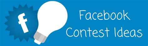 Facebook Page Giveaway Ideas - facebook contest ideas 6 easy contests you can run