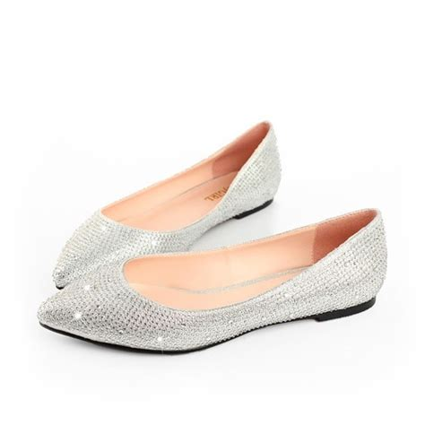 womens silver shoes dress flat athletic 2423 womens