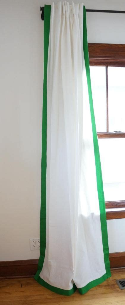 curtain ribbon trim best 25 curtain trim ideas on pinterest curtains with
