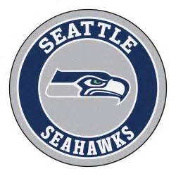 Philadelphia Eagles Rug Seattle Seahawks Logo Roundel Mat 27 Quot Round Area Rug