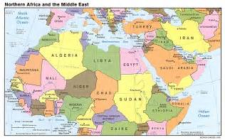 Map Of Middle East by Global Connections Mapping The Middle East Pbs