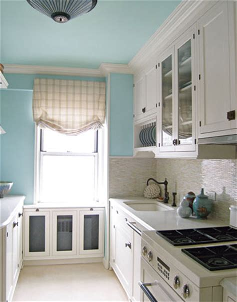 blue kitchen paint how to choose a color for kitchen walls