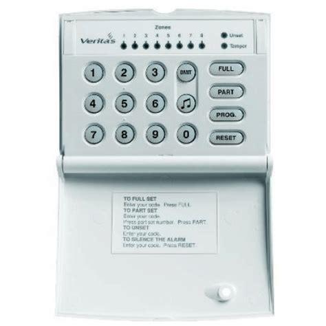 House Alarms by Texecom Veritas Led Stylish Keypad
