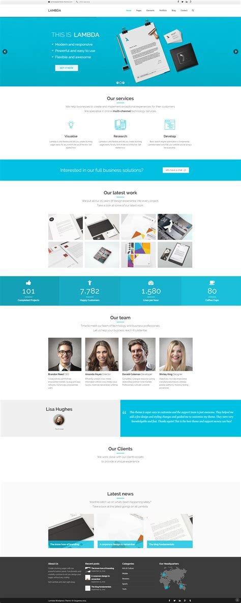 themeforest lambda a collection of the very best bootstrap themes for