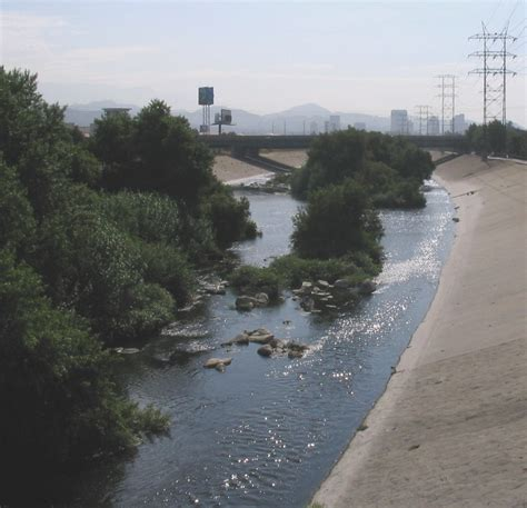 bodies of water near los angeles crossing the same body of water twice or more