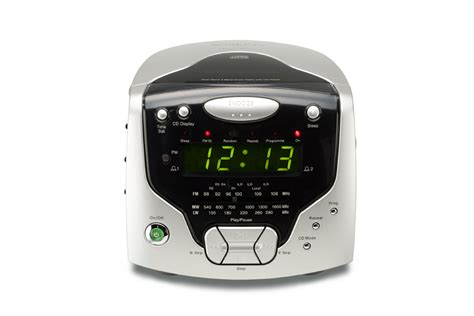 radios 3 band dual alarm stereo clock radio with cd player cd new ebay