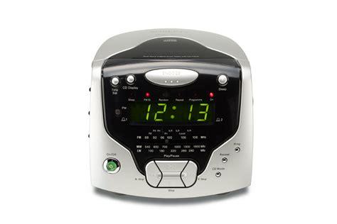 roberts radios  band dual alarm stereo clock radio