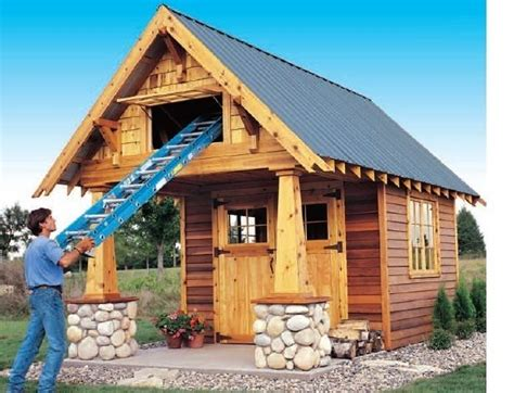 shed playhouse plans 10 x 10 playhouse building plans shed guest house backyard guest houses