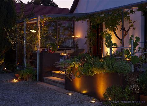 Beleuchtung Im Garten by Gartenblog Zu Gartenplanung Gartendesign Und