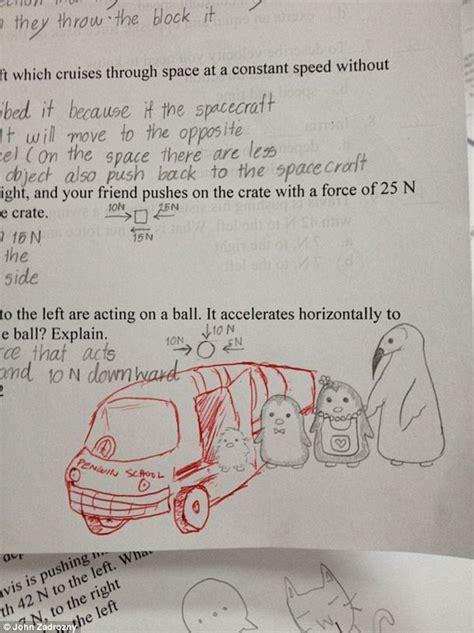doodle respuestas high school adds own hilarious sketches to
