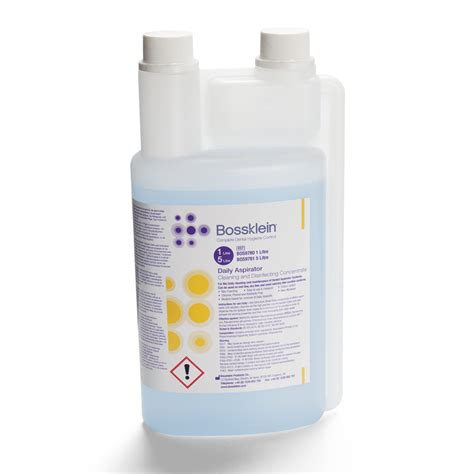 bossklein daily aspirator cleaner and disinfectant