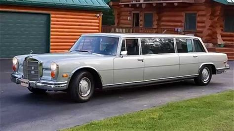 mercedes limo 1970 mercedes stretch 600 limousine