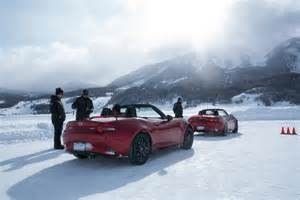 Convertiblesnot Just For Cars Anymore by Snowy Slides And Top Rides At Mazda S Academy