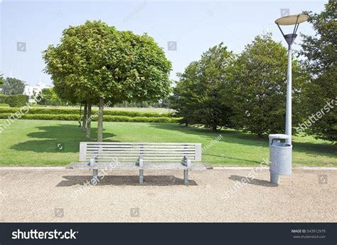 bench in london wooden bench in london park stock photo 543912979 shutterstock