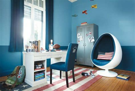 Merveilleux Deco Chambre Enfant Garcon #6: Chambre-de-fille-ado-id%C3%A9e-d%C3%A9co-bleu-amerique.jpg