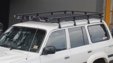 Land Cruiser 80 Series Roof Rack by Toyota Landcruiser 80 Series Roof Racks