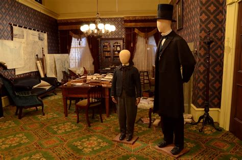 lincoln props on display at presidential museum