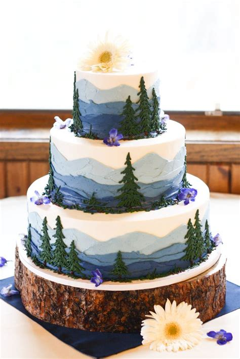 themed cake decorations best 25 mountain cake ideas on forest cake