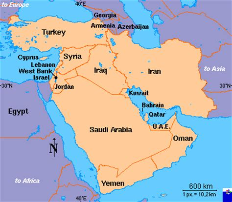 middle east map continent interopp org middle east region