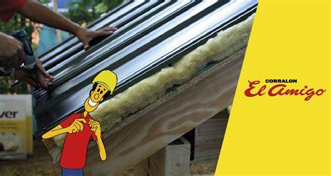 aislante termico para techos de chapa corral 243 n el amigo