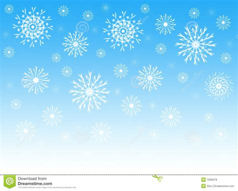 sky and snowflakes royalty free stock photos image 1600078