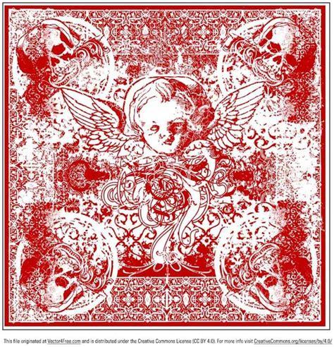 bandana pattern ai wicked cherub bandana vector free vector in adobe