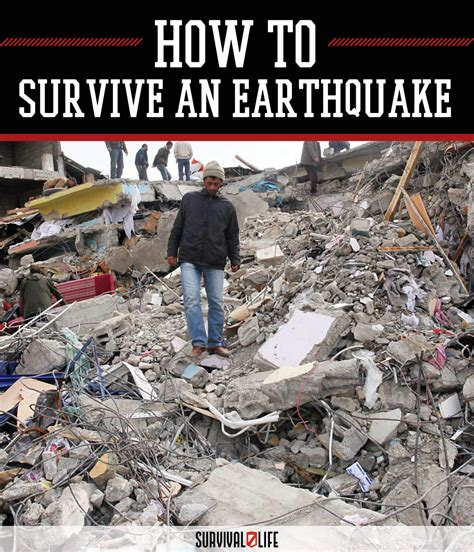 earthquake survival tips what to do during earthquakes survival life