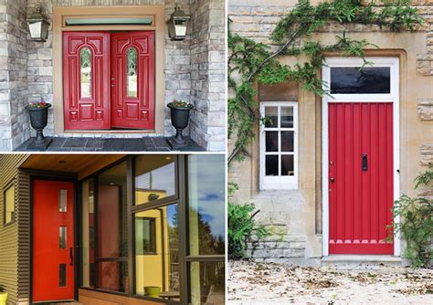 how to paint the front door the tradition of painting a front door red what does it
