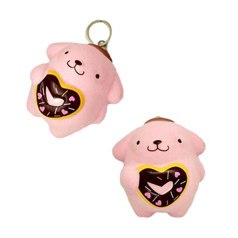 Squishy Untuk Handphone Squishy B2s Pink jual kukuk squishy pom pom purin mainan anak pink