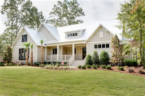 Ranch Style House Plans With Wrap Around Porch by Jacksonbuilt Custom Homes Daniel Island Sc Custom Home