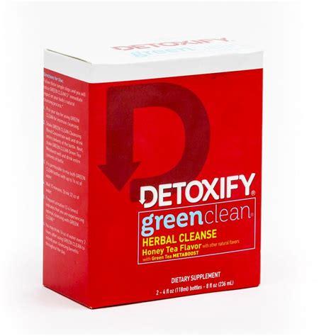 Green Clean Detox by Detoxify Green Clean Honey Tea Flavor De 06 Detoxify
