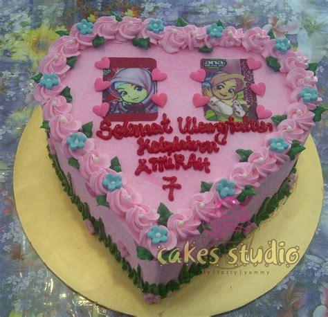 Lq Babydoll Ktun Bruebery Merah cakes studio kek birthday special for