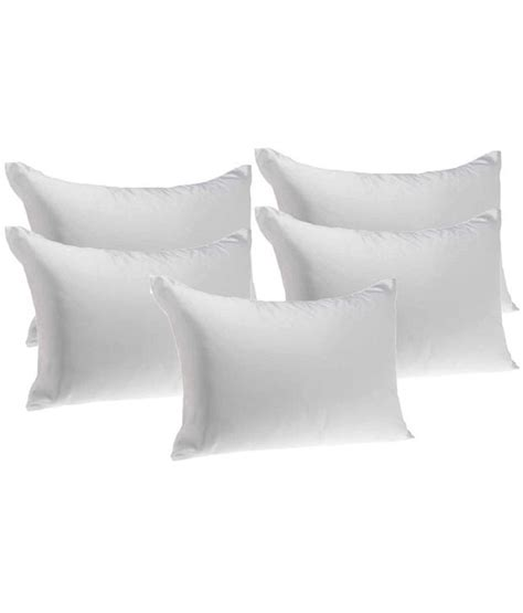 Comfortable Pillows by S Collection Comfortable Pillow Fillers Set Of 5