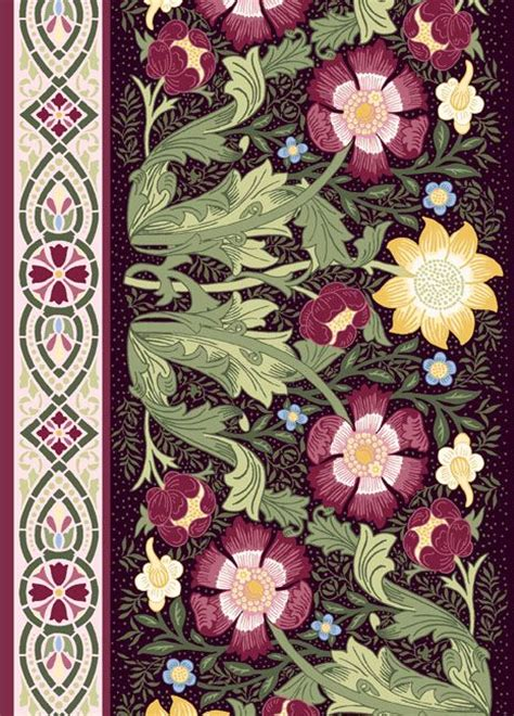 William Morris Patchwork Fabric - william morris in quilting fabric collections william