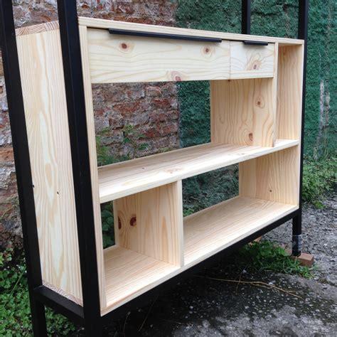 estante ferro e madeira sob medida estante ferro madeira felipe de lucca