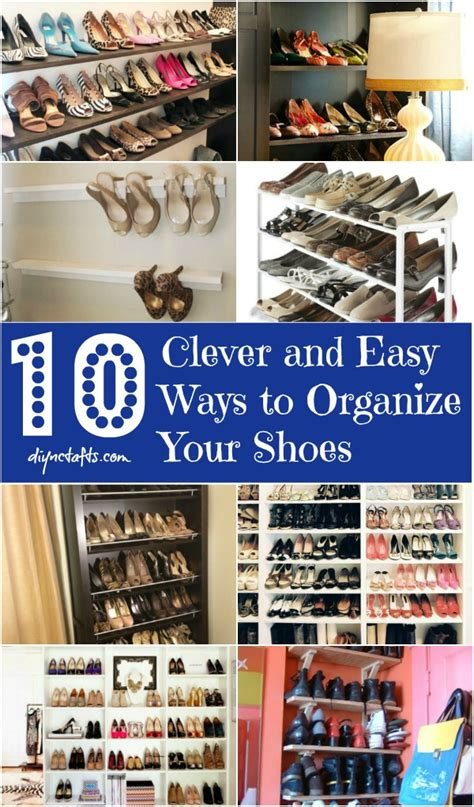 how to organize your home in 5 easy steps 10 clever and easy ways to organize your shoes diy crafts