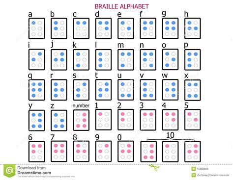 lettere braille alfabeto braille fotografie stock libere da diritti