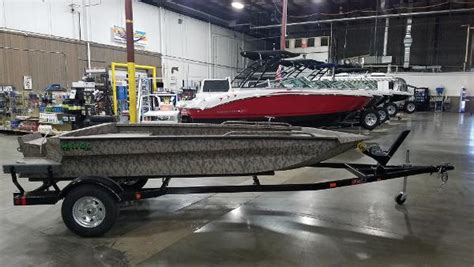 used havoc duck boats for sale 2017 havoc boats 1556 raptor duck boat southaven