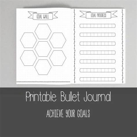 printable time journal printable bullet journal