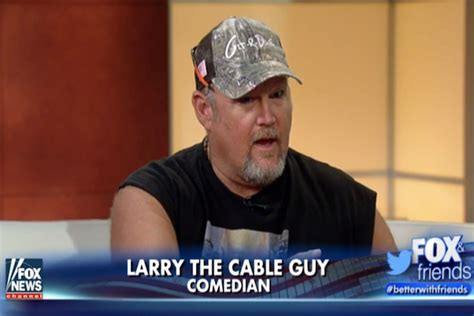 larry the cable guy house she is a piece of crap larry the cable guy on tina fey blaming college
