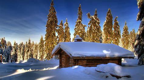Home Design Download Mac by Nature Winter Snow Cabin Wallpaper 12586